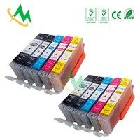 4sets 470XL Compatible Cartridge for Canon PIXMA TS5040 MG5740 MG6840 TS6040 Printer