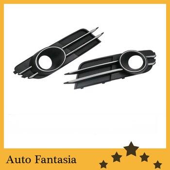Luz antiniebla delantera rejilla con cromo línea acento recorte versión)-Para Audi a6 c7