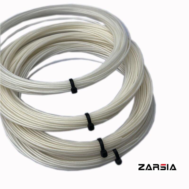 1 Pc Japan Hex Kunstsaite Tennis Schläger String Gute Elastische Und Steuerung 1,3mm