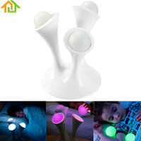 Colorful LED Night Light Mushroom Glowing Balls Night Lamp For Children Kids Romantic Bedroom Decoration