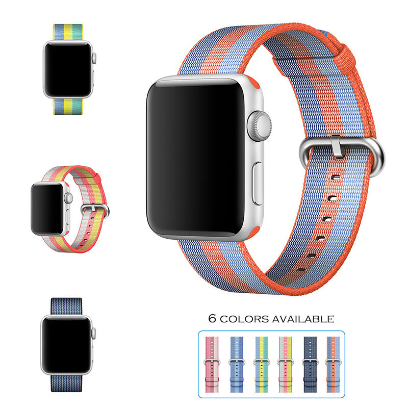 URVOI 2017 band for apple watch series 1 2 woven nylon ...
