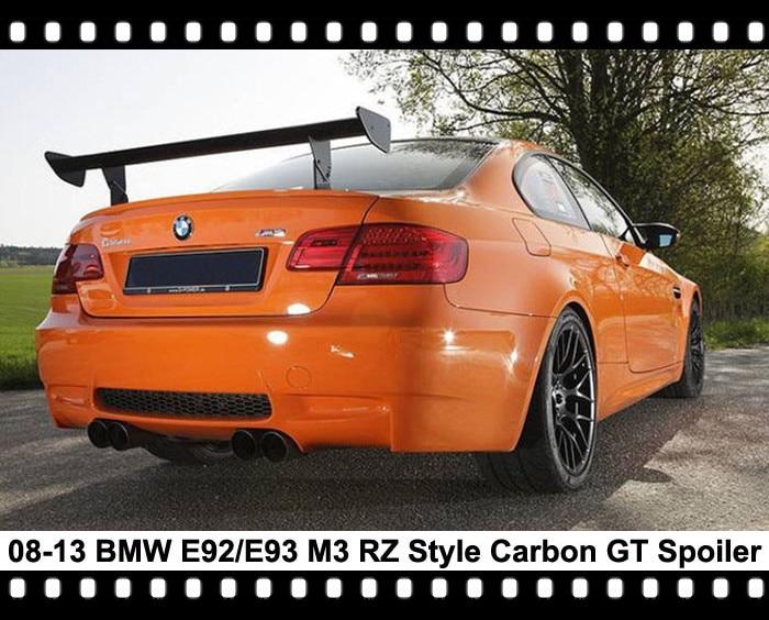 E92 M3 Rear Gt Wing E93 M3 Carbon Fiber Trunk Spoiler M3