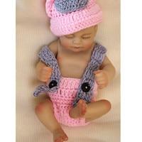 11 Full Body Silicone Reborn Babies Pink Dress Realistic Girl Reborn Doll Bebe Alive Reborn Bebe Reborn Girl Gift Juguetes