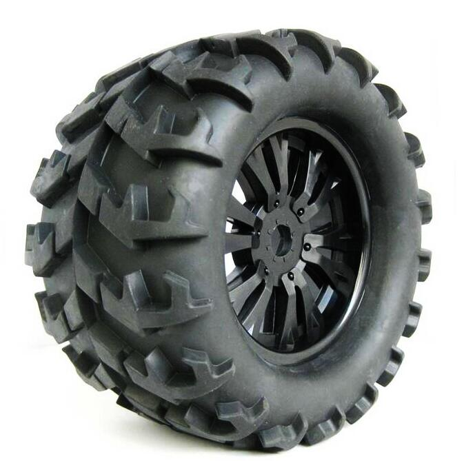 Free Shipping 4pcs 150mm 1/8 Buggy tire Off-road RC Car Model wheels Monster truck wheels Hex 17mm 2pcs traxxas original 1 5 x maxx tires wheels tire tyre for 1 5 traxxas x maxx rc monster truck model 7772