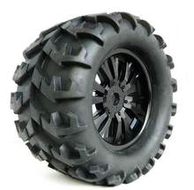Gratis Verzending 4 stks 150mm 1/8 Buggy band Off-road RC Auto Model wielen Monster truck wielen Hex 17mm(China)
