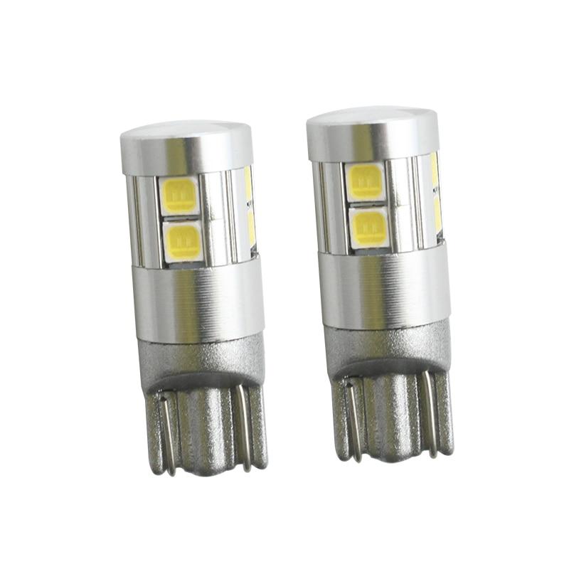 2 stk Car-styling T10 W5W LED nummerpladerlamper Bagagerumslampe - Billygter - Foto 3