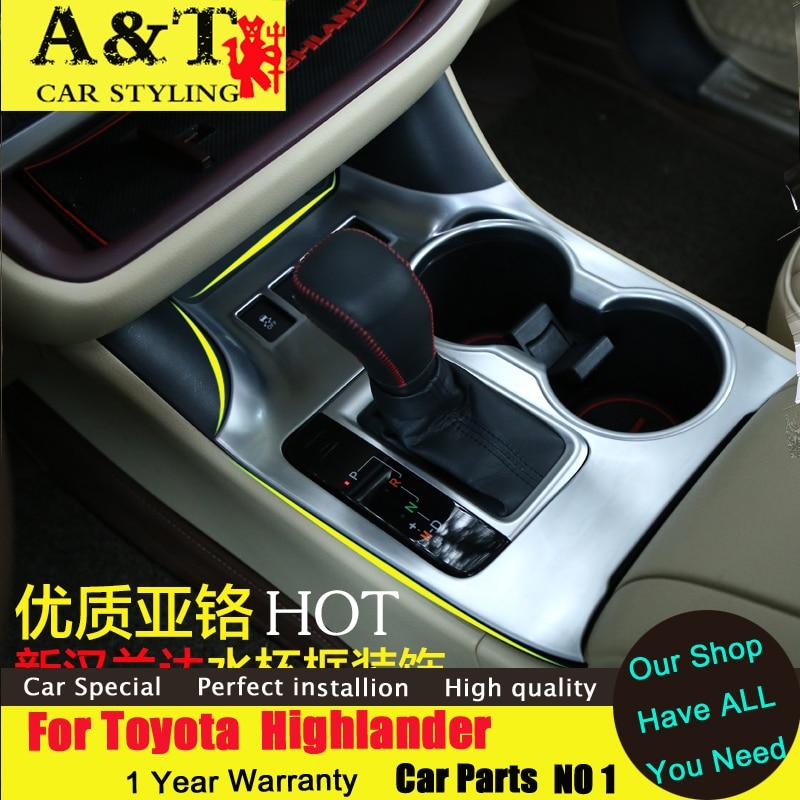 font b car b font styling For Toyota Highlander Glass circle decorative frame font b