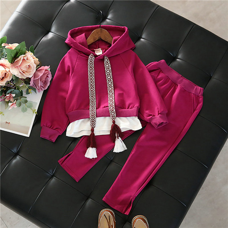 Children Clothes 2017 New Autumn Winter Girl Clothes Christmas Costume Hoodie+Pant 2pcs Kids Sport Suit Girls Clothing Set CC376 кухонный комбайн kitchenaid artisan 5kfp1644eac