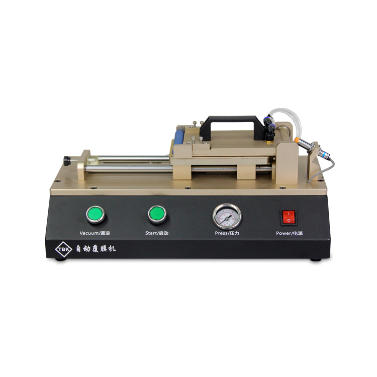 TBK Automatic OCA Film Laminating Machine Built-in Vacuum Pump For iPhone Samsung LCD Touch Screen Repair professional ly 948v 2 semi automatic lcd separator machine oca screen separating machine with built in vaccum pump
