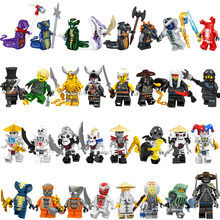 Single Sale Legoed Ninjagoed 2019 Minifigured Snake Pythor Dragon Master Ninja With Weapons Masters of Spinjitzu Building Blocks(China)