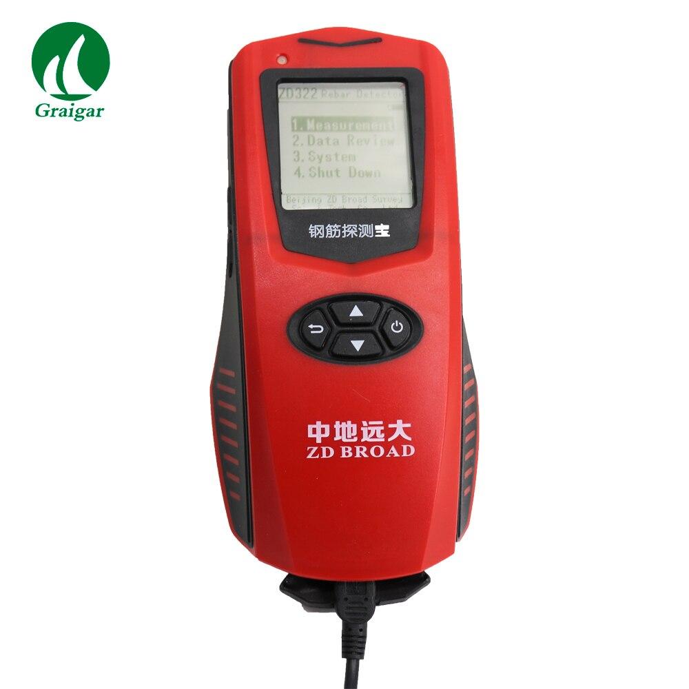 Новый сканер арматуры ZD322 экономический стальной детектор измеряет положение Стального Стержня