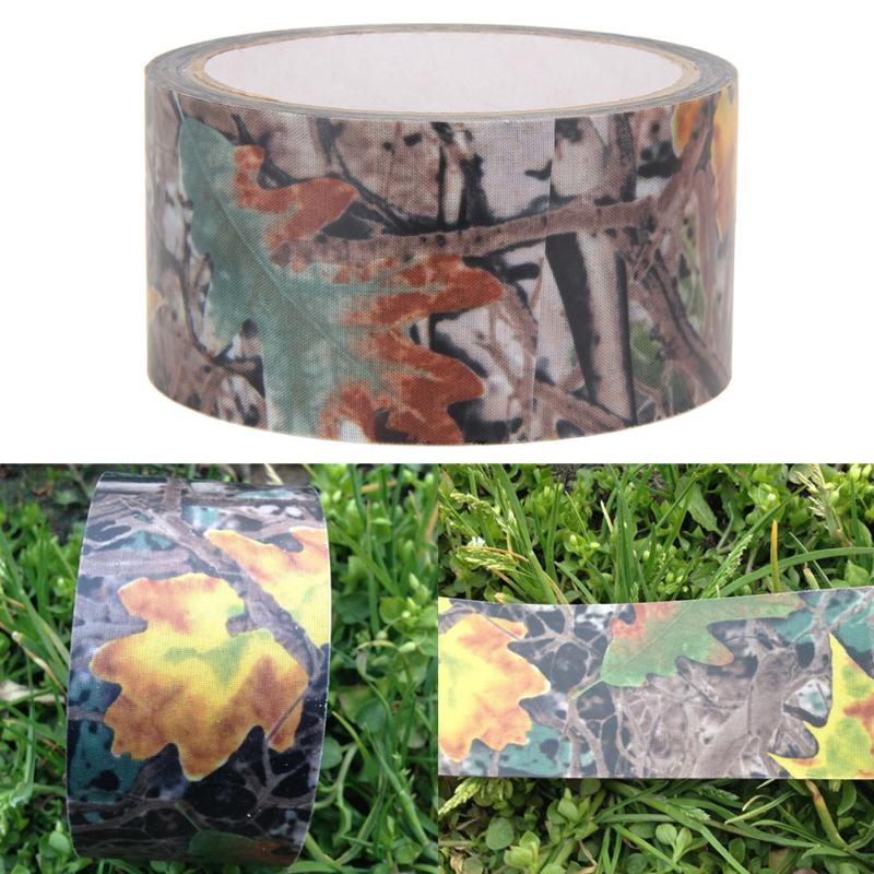 Image 4 - 10m Waterproof Dead Leaves Camo Cloth tape Gun Hunting Outdoor Camping Camouflage Stealth Tape Wrap for Hunting Gun Accessories-in Hunting Gun Accessories from Sports & Entertainment