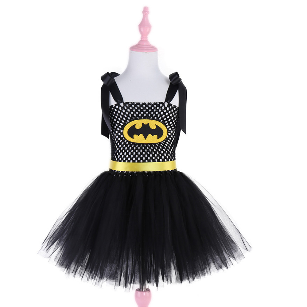 Superhero Kids Halloween Christmas Costume Tutu Dress Children Party - Children's Clothing - Photo 2