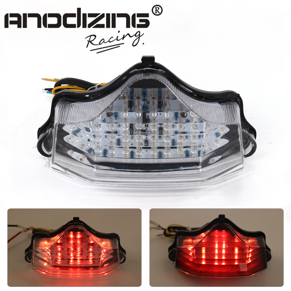 New  Motorcycle For Yamaha FZ600 FZ6 04-09 Led Tail Brake Turn Signal Integrated Light