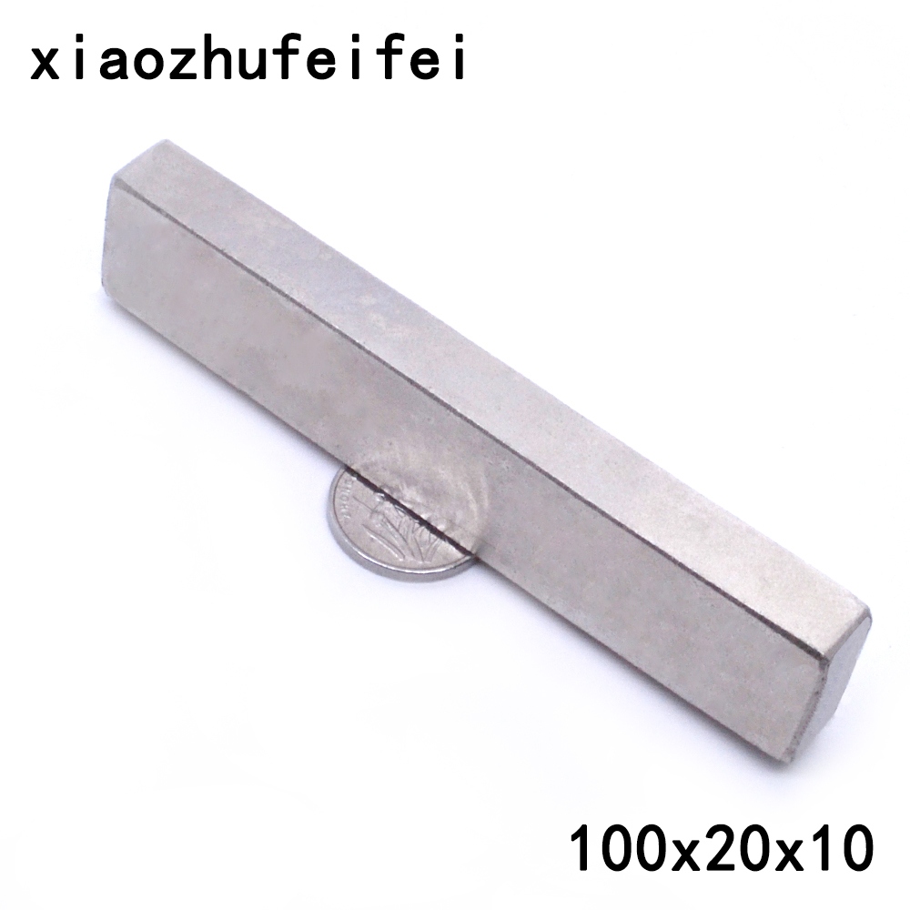 100x Strong Rectangular Block Magnet 20mm x 5 x 3mm Rare Earth Neodymium Cuboid
