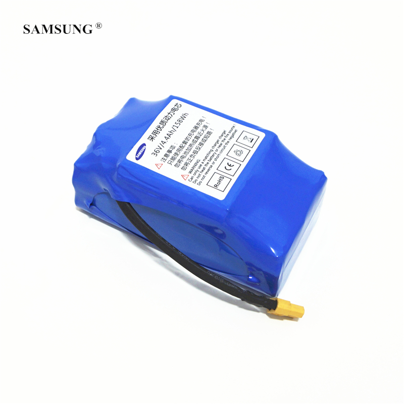 E-Scooters Power Bank 36V 4.4AH 4400MAH for SAMSUNG Dynamic rechargeable Lithium ion Battery Packs e blue ehb038 dynamic зеленый