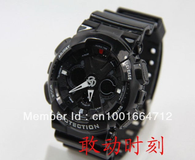 2012 new arrivel GA120 Watch colorful Electronic Multifunction Sports Wristband Watch Digital ga120 watch