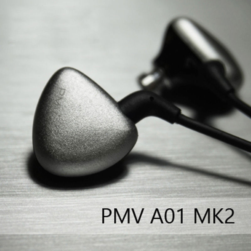 PMV A 01 MK2 Dynamic and 2BA Triple Driver In Ear Audiophile Earphone HiFi Earbuds In