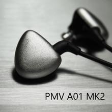 PMV A-01 MK2 Controlador Dinámico y 2BA Triple En Oído Auricular Audiófilo HiFi Auriculares In-Ear Monitor