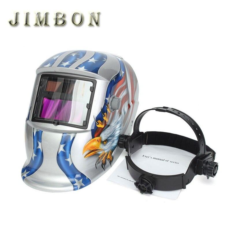 Eagle Solar Welder Mask Electrowelding Auto-Darkening Welding Helmet Windproof Outdoor Sport Cycling Cap Black Hat  цены