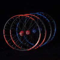 2018 hot sale l01 MTB mountain bike bicycle 4 sealed bearings wheels double rim wheelset rims