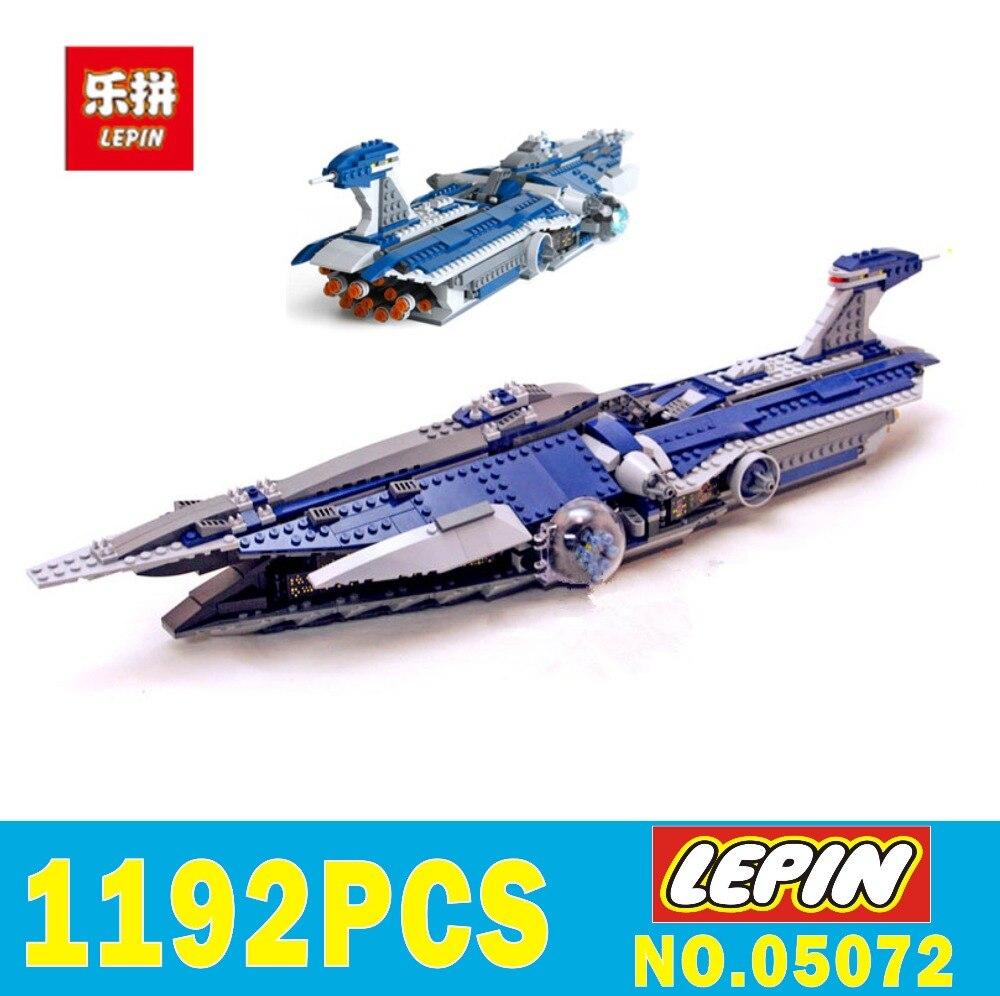 New LEPIN 05072 Star-WARS Children toys Dental warships 1192Pcs Building blocks Bricks toys Model 9515 for Holiday boy Gift MOC