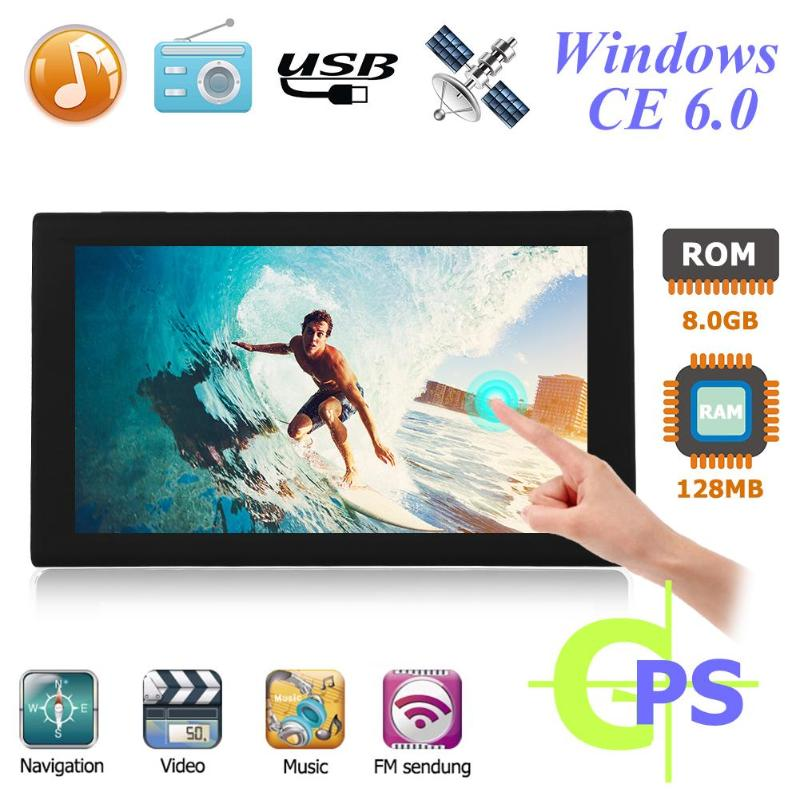 S900 9 pouces 8 GB écran tactile Portable HD voiture GPS Navigation FM émetteur GPS navigateur Europe russie amérique carte