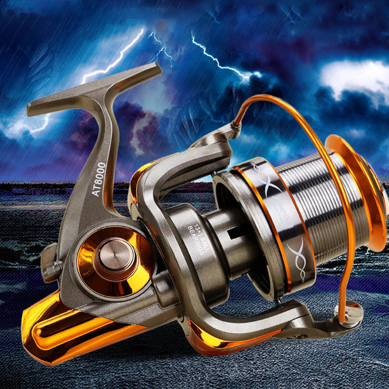 Nouveau roulement à billes 13 + 1BB rapport de vitesse 4.6: 1 main gauche/droite Interchangeable pliable poignée pêche filature moulinet matériel de pêche