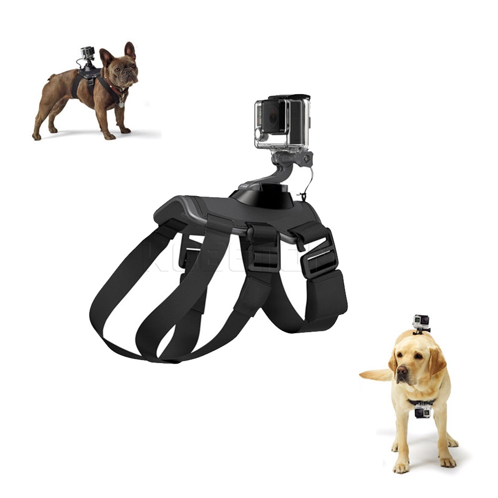 Hot Gopro Accessories Hound Dog Fetch Harness Chest Strap Belt Mount for Xiaomi Yi Gopro Hero 4 3 2 1 SJ4000 Action Sport Camera