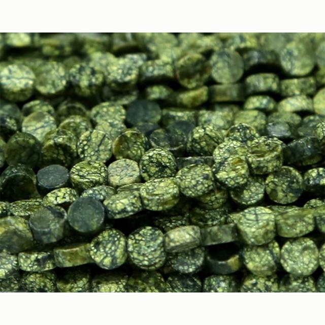 cbd91e4ddb26 Venta al por mayor piedra Natural verde genuino serpentina moneda plana  cuentas disco pequeño suelta perlas