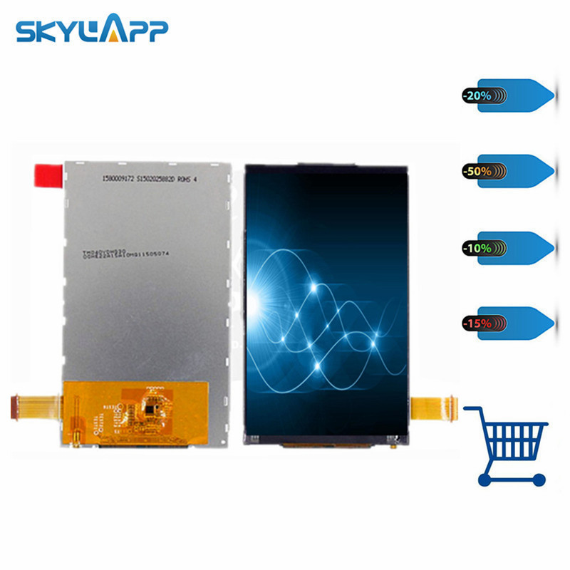 skylarpu 4 inch for TM040YDHG30 TFT LCD display screen for Intermec CN51 barcode scanner display panel (without touch) 10piece 100% new apw7138 qfn 16 chipset