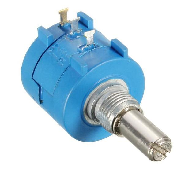 3590S-2-104L 3590S 100K ohm Precision Multiturn Potentiometer 10 Ring Adjustable Resistor Free Shipping