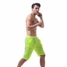 KLV Men's Shorts Swim Trunks Quick Dry Beach Surfing Swimming Watershort reathable comfortable #@F(China)