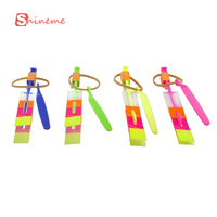 7 Pcs Baby Boys Girls LED Arrow Rocket Flashing Flying Toy For Children Kids Amazing Arrow