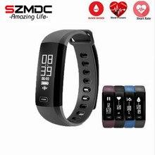 Szmdc M2 Smart Band heartrate Приборы для измерения артериального давления кислорода оксиметр спортивный браслет часы inteligente Pulso для IOS Android для мужчин