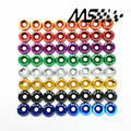 Fender Washers 1set=8pcs washers and bolt (red/blue/gold/silver/purple/orange/black/green)
