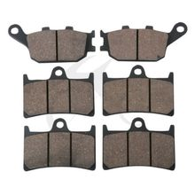 цена на Motorcycle FRONT REAR BRAKE PADS FITS FOR YAMAHA R1 YZFR1 YZF-R1 2004 2005 2006 FRONT REAR