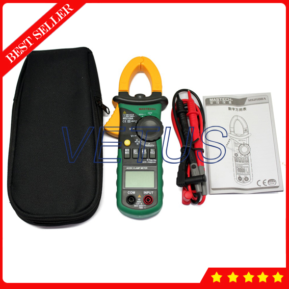 MASTECH MS2108A Digital AC DC Clamp Meter трассоискатель mastech ms6812