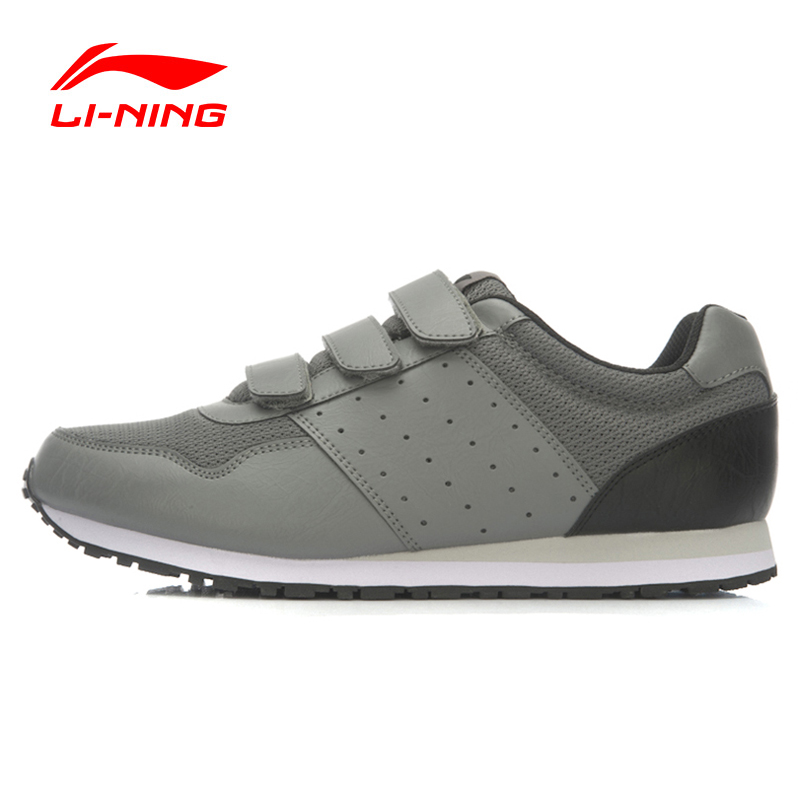 Li-Ning Outdoor Running Shoes Men Stylish Lace-Up Breathable Stability Sneakers Sport Shoes Li-Ning ALAK093 XMR1608