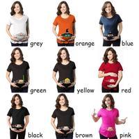 Comfortable Pregnant Maternity T Shirts Casual Pregnancy Clothes For Pregnant Women Gravida Cotton Vestidos D3 26B