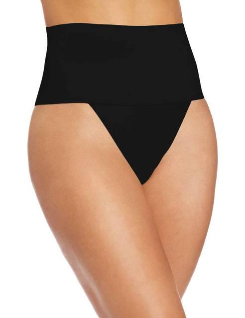 f983c9589ff beige big plus size post-partum women elastic underwear Seamless Middle  Waist Thong Shaper butt tummy Control panties pant E48 54.4 ₪. Beige. Black