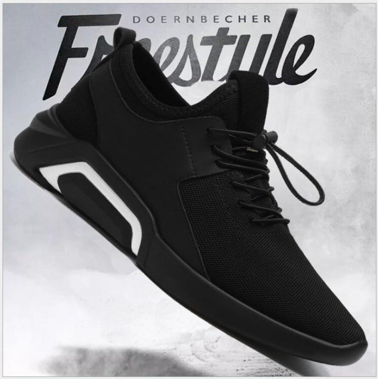 9c533dbad Calçado Homens Outono Malha Casuais Dos Respirável Masculino Primavera Alta  1 Sapatos Lace Olpay Qualidade Confortável 2 Novos up Sneakers Moda aqw7xcE