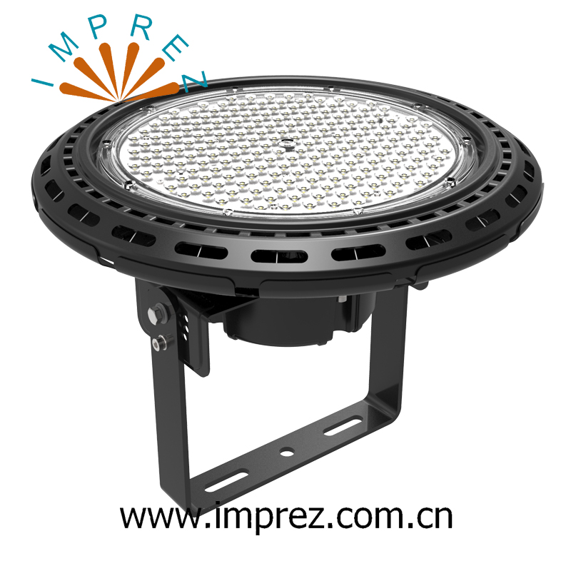 Hot Sale 200W UFO Led High Bay Light &Led Low Bay IP65 Outdoor Industrial Lamp AC90 307V 24000 lumen with Meanwell Driver