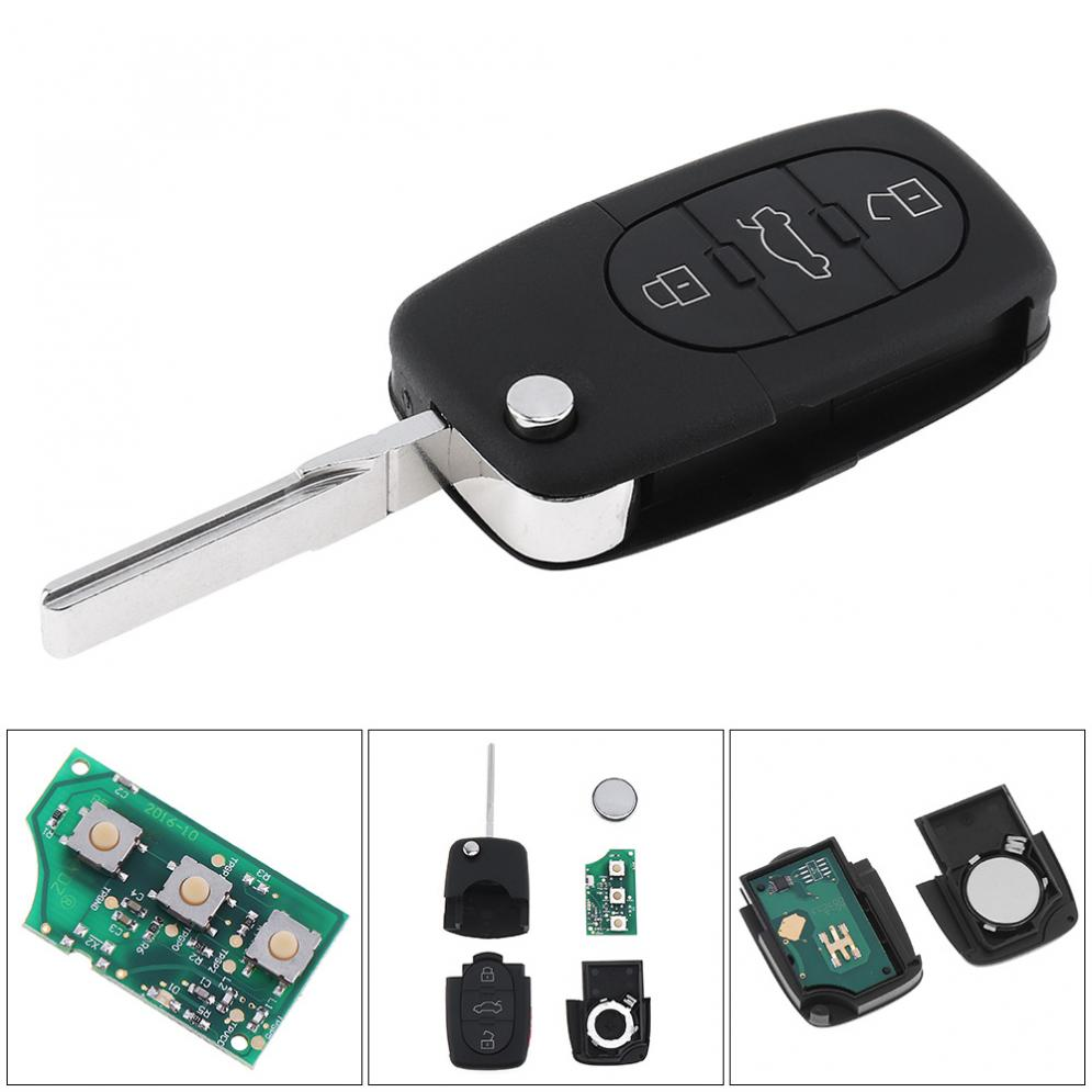 3 Buttons Keyless Uncut Flip Remote Key Fob With Id48 Chip Onebutton 2 Way Start Kit Fits Nissan And Infiniti Intellikey 24336 First 4 L1