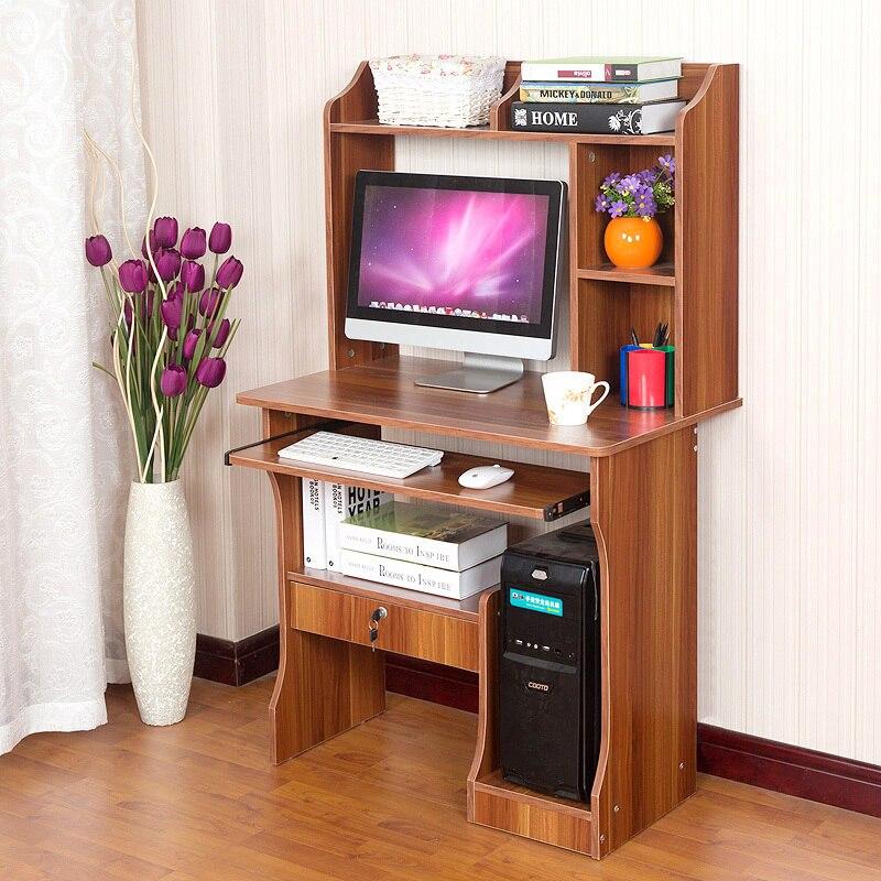 Man Patriarch Combination Of Home Desktop Computer Desk With Bookcase Desk Computer Desk Desk