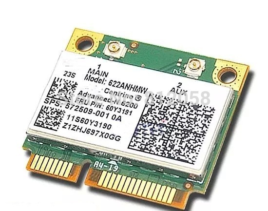 SSEA New Network Card For Intel Advanced-N 6200 622ANHMW 6200AGN Wireless For IBM T410 T410S T510 V460 Y560 X201 FRU 60Y3191