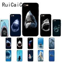 Ruicaica ocean Whale Sharks fish Custom Photo Soft Phone Case Cover for iPhone X XS MAX 6 6S 7 7plus 8 8Plus 5 5S XR(China)