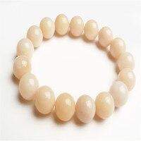 2017 New Arrival Stretch Charm Bracelets For Women Fashion Jewelry 12mm Genuine Opal Natural Stone Round Bead Bracele Femme