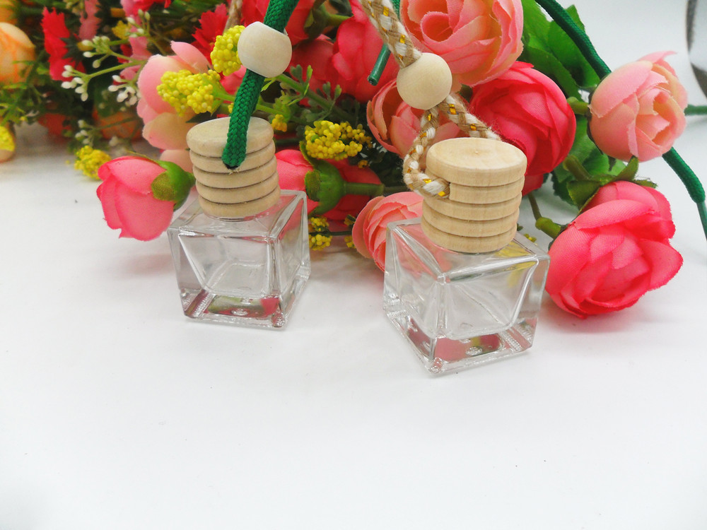 10 buc 5 ml Clear Parfum Sticla Pandantiv Mașină de parfum Bottle Mini Atomizer de sticlă Gol Empty Container de sticlă de sticlă