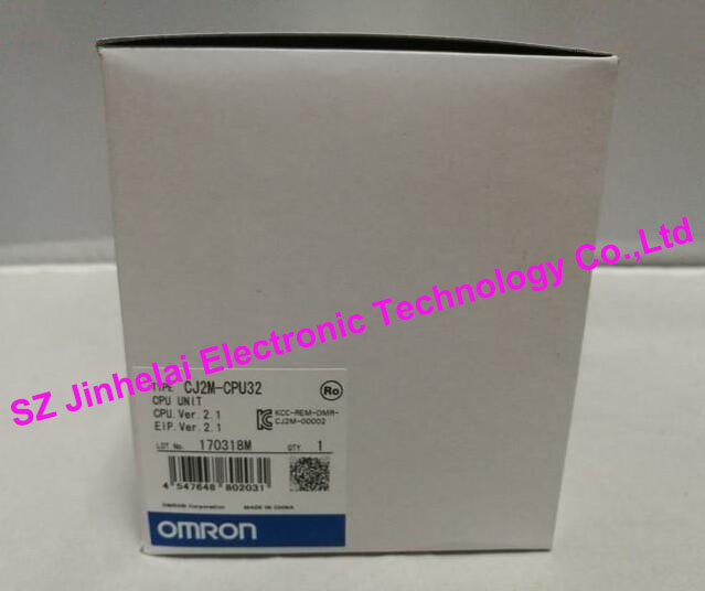 100% New and original CJ2M-CPU32 OMRON CPU UNIT , CPU MODULE original and epi 1711vna ver a3 1 cpu high quality